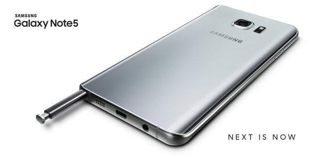 Galaxy Note5_Silver Titanium_OOH
